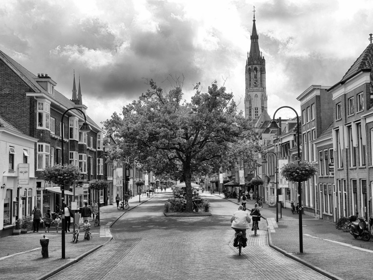 An afternoon in Delft